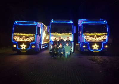 Kerstmis truckrun